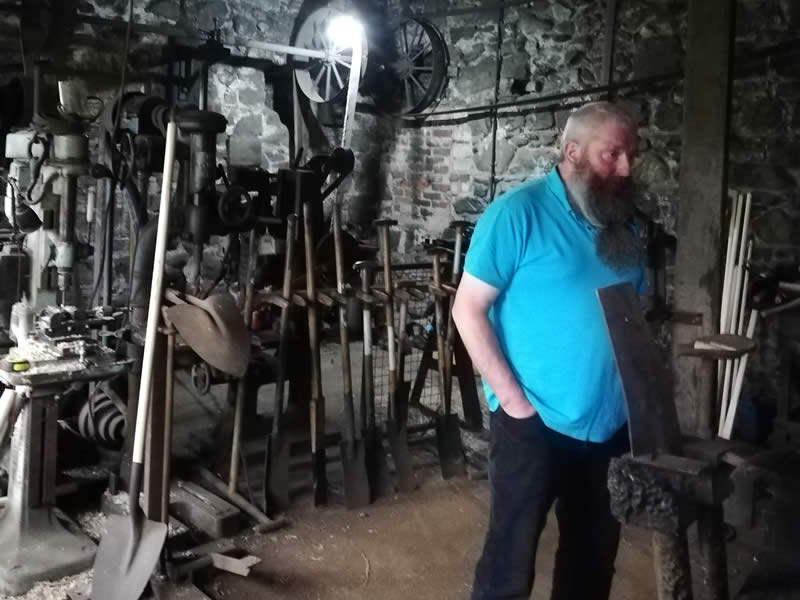 The National Trust's Patterson's Spade Mill Tour