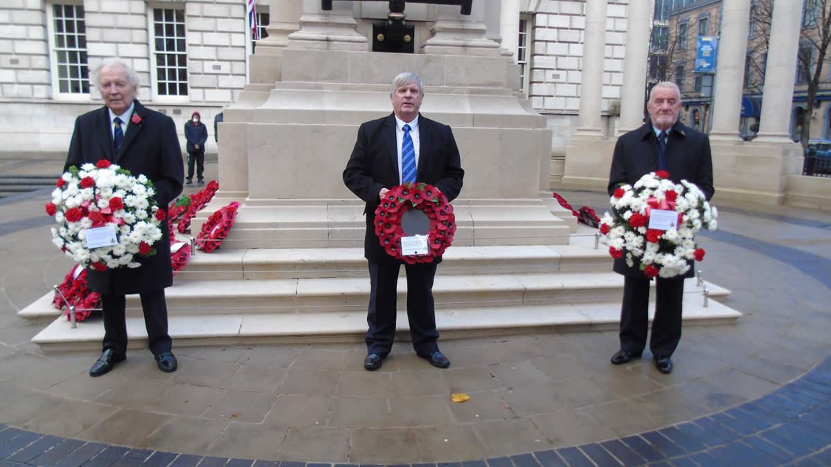 Act of Remembrance Belfast City Hall Cenotaph